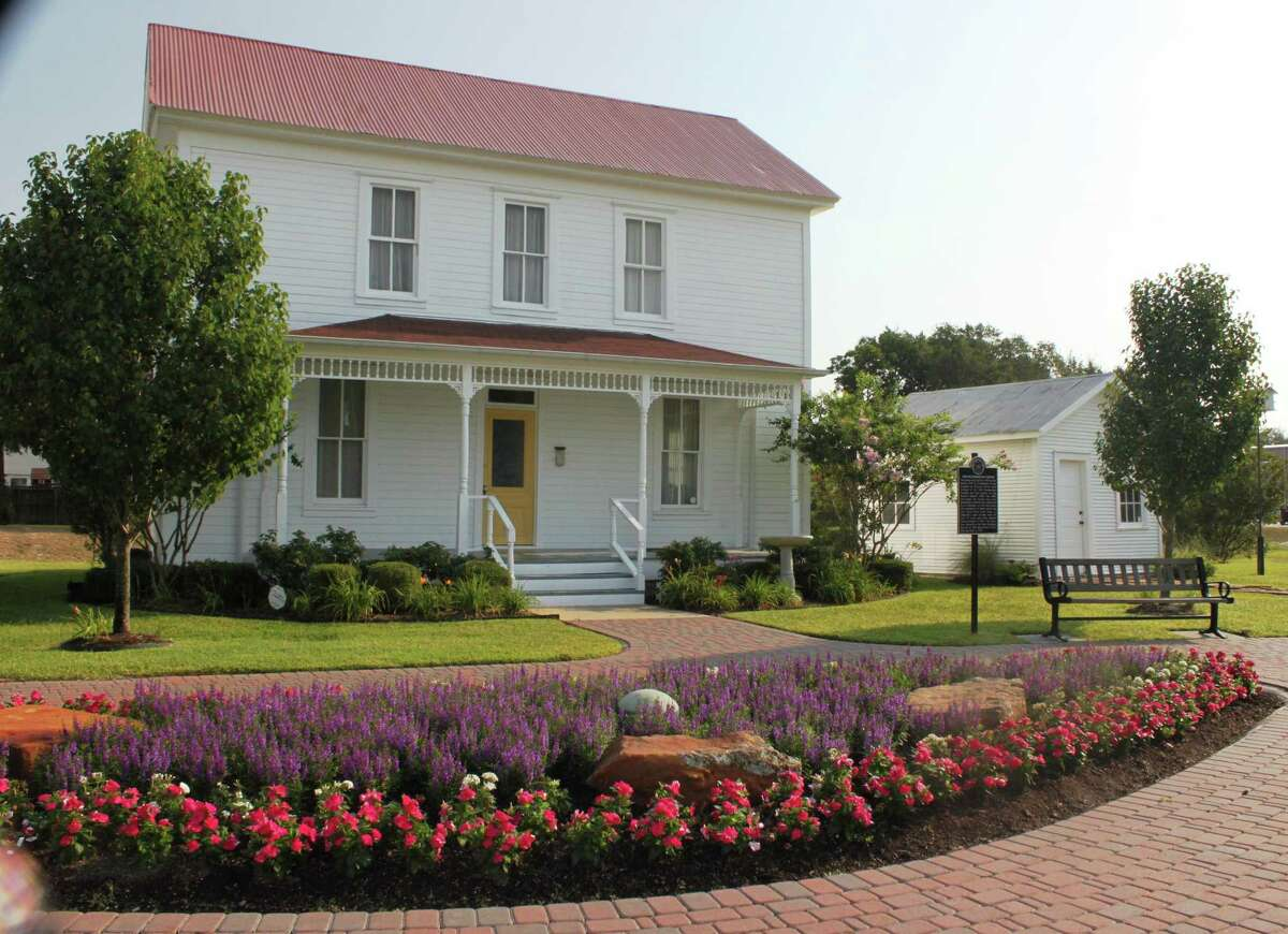 The Featherston House was once owned by Katy's first paid preacher, W.H. Featherston. It is now located at Katy Heritage Park and furnished to resemble a family home of the early 1900s.