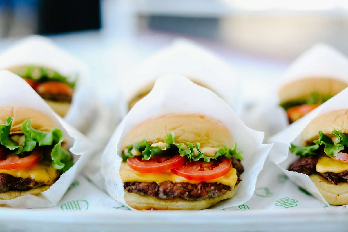 Shake Shack's classic burgers will be a key draw to its seventh Bay Area location at Westfield San Francisco Centre.