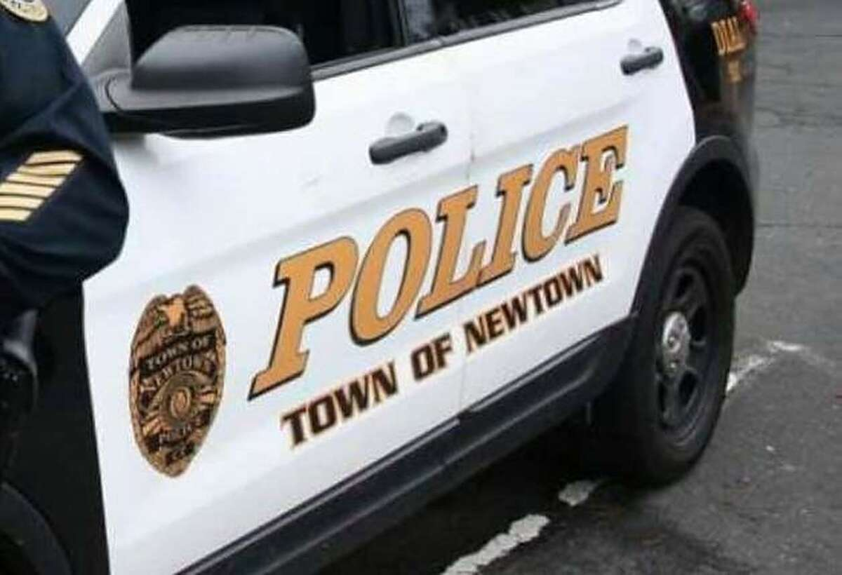 Newtown police are looking for a man who they say assaulted a Hilaro's Service Center employee after being caught trying to steal fuel oil Friday morning.