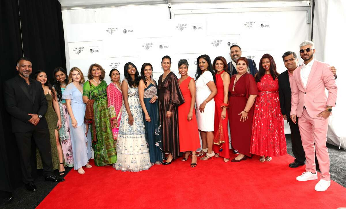 """San Antonio actress Priya Deva made her Tribeca Film Festival red carpet debut recently for the premiere of """"India Sweets and Spices"""" in New York City."""