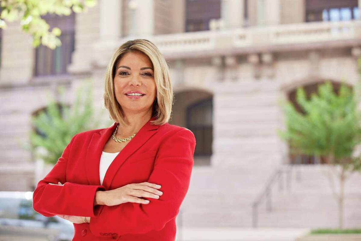 Eva Guzman, a former Texas Supreme Court Justice, is running for attorney general in the Republican primary.
