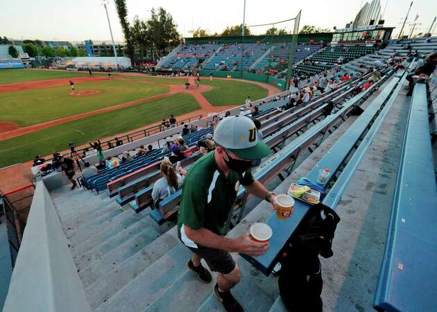 Story photo for Surviving COVID and contraction, minor-league baseball makes a comeback in San Jose