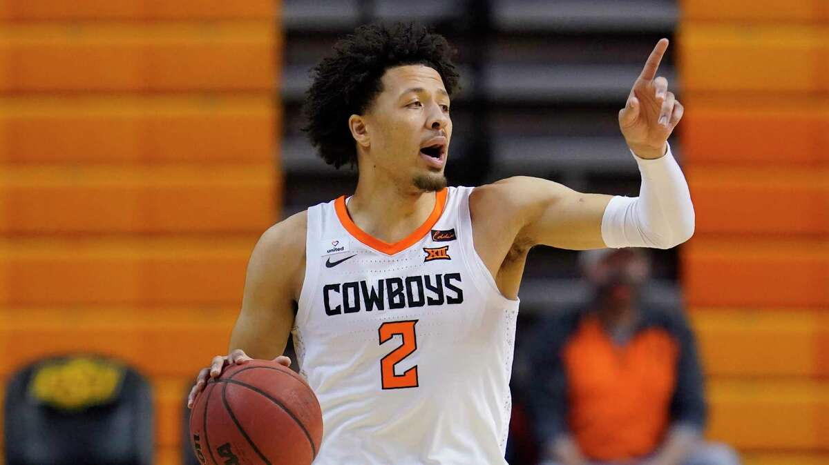 Oklahoma State guard Cade Cunningham will be the eventual prize for whichever team wins the NBA Draft Lottery on Tuesday night.