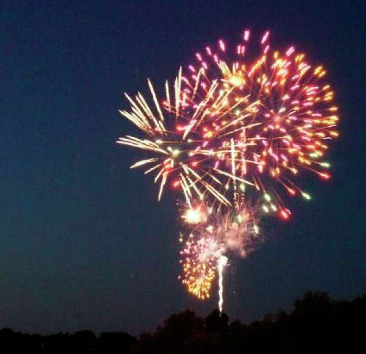 Fireworks will return to Big Rapids this year as part of the July 4 celebration. The Lions Club will host the event at the Mecosta County fairgrounds on July 2. (Pioneer file photo)