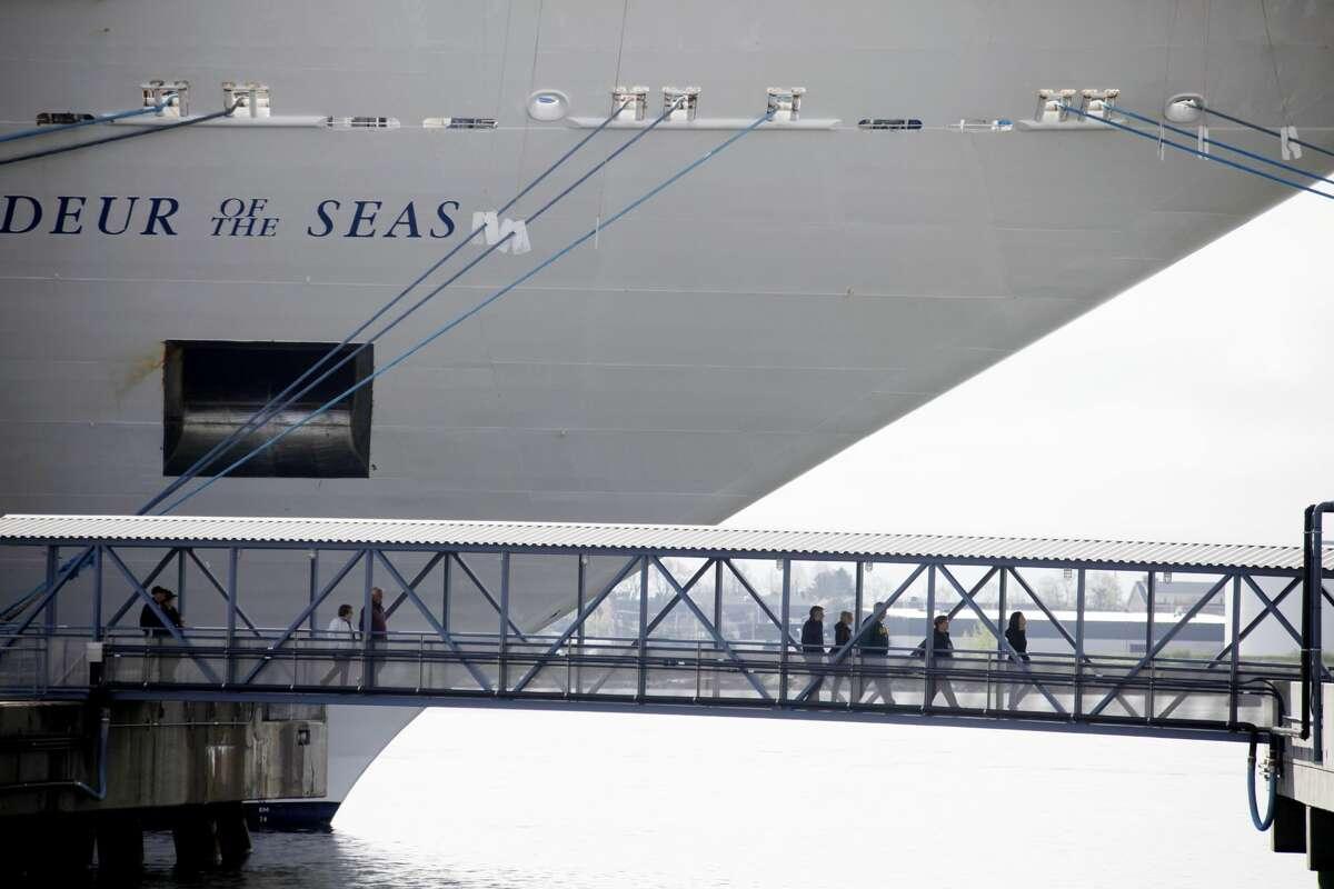 The Royal Caribbean Grandeur of the Seas seen here in 2018.
