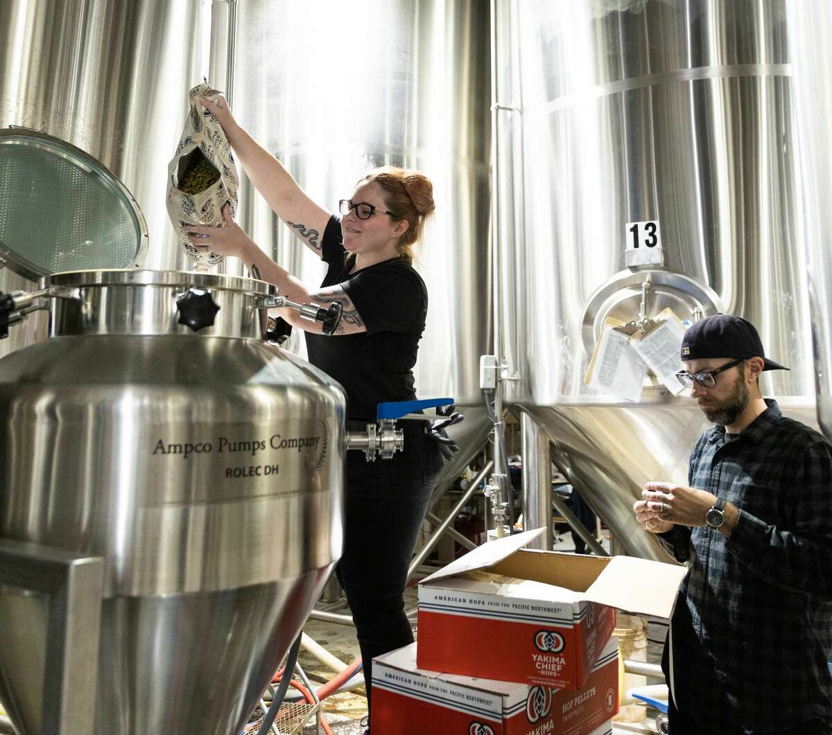 """Sloop Brewing Company's diversity and inclusion internship is a pioneering training program in the white, male-dominated craft beer industry. Its newest intern, who is gay, appreciates its impact. """"You can walk in and go ... 'I belong here,'"""" said Shanna Bowman. """"That's one of the most wonderful things about this."""""""