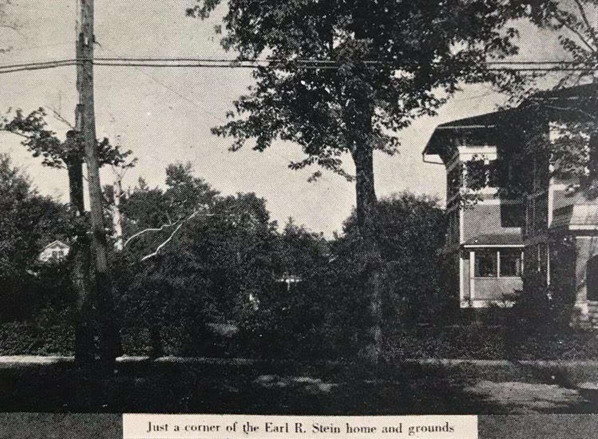 Just a corner of the Earl R. Stein home and grounds