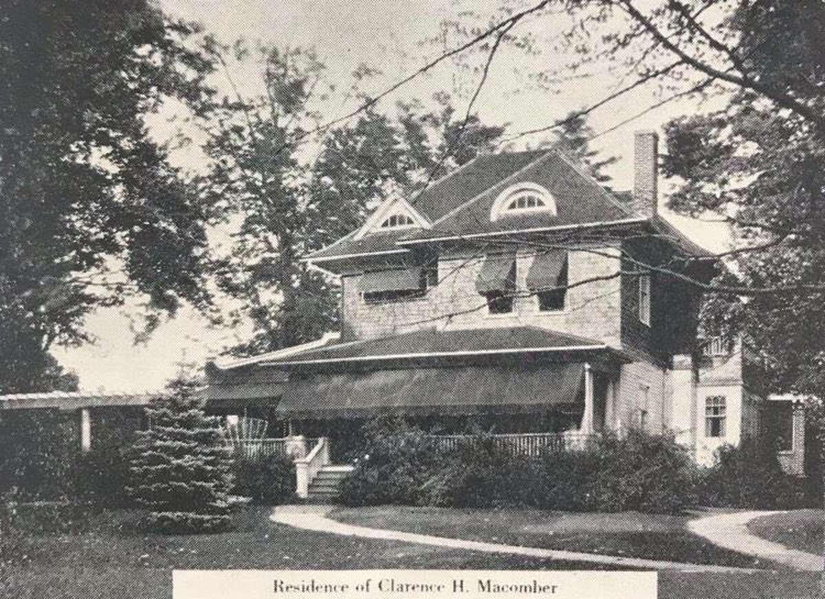 Residence of Clarence H. Macomber