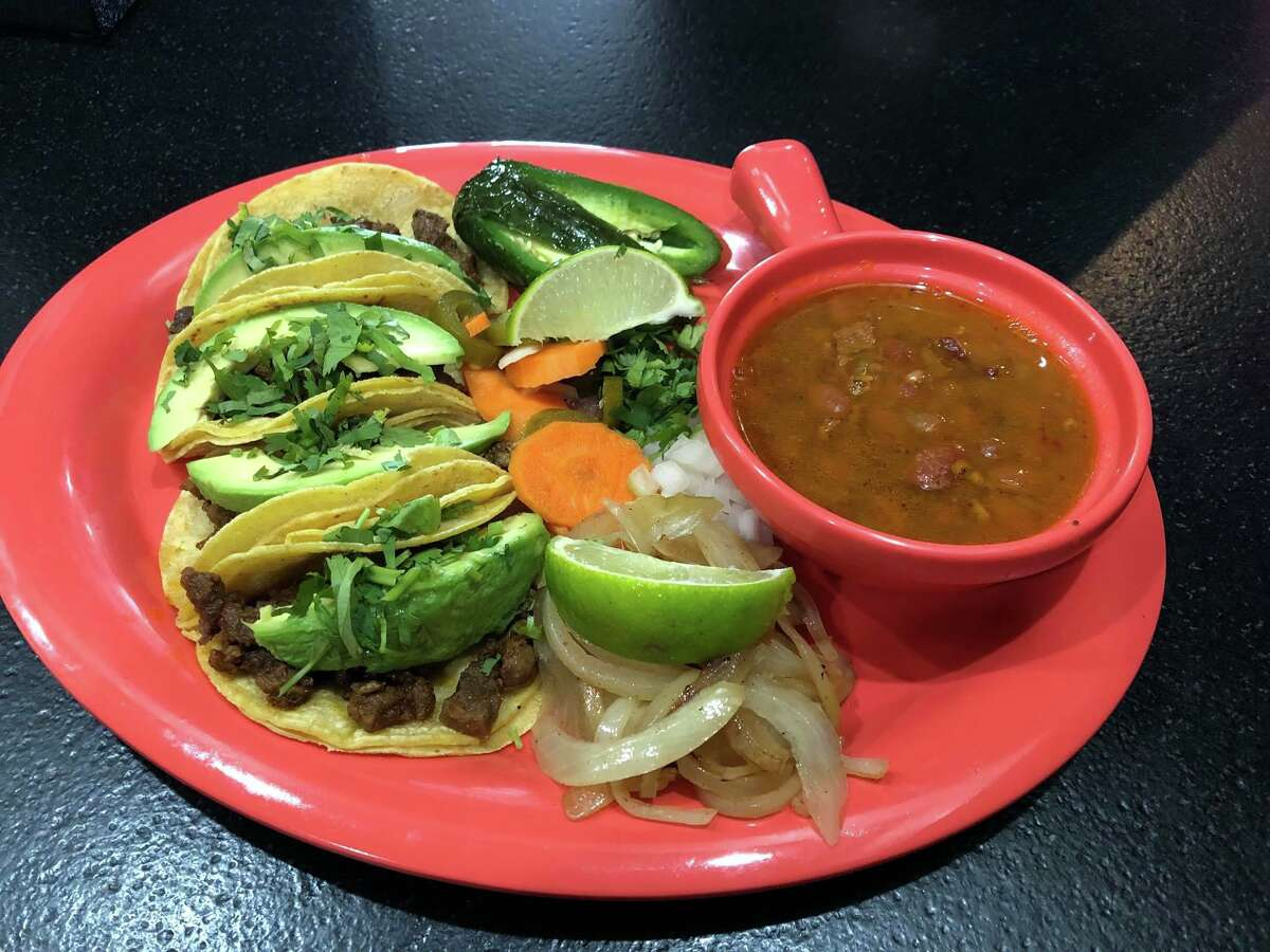 Tacos La Bala is a takeout and delivery restaurant in Deer Park.