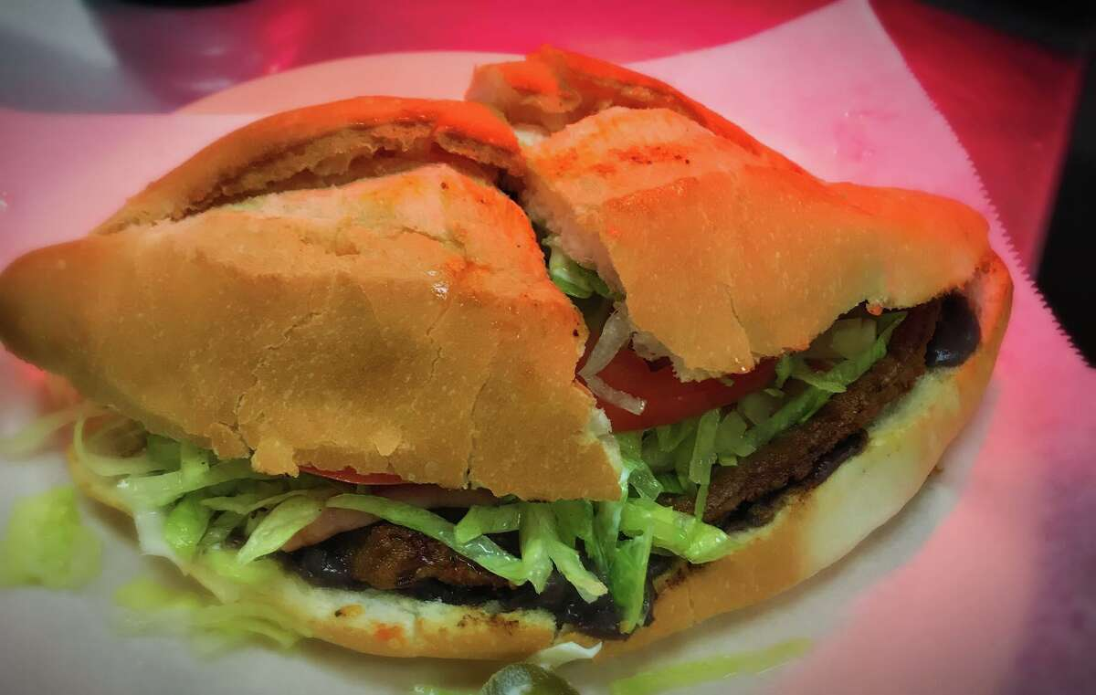 The restaurant specializes in Mexican breakfast staples like huevos rancheros and chorizo in addition to its signatures: tortas (Mexican sandwiches), burritos and quesadillas with meat options.