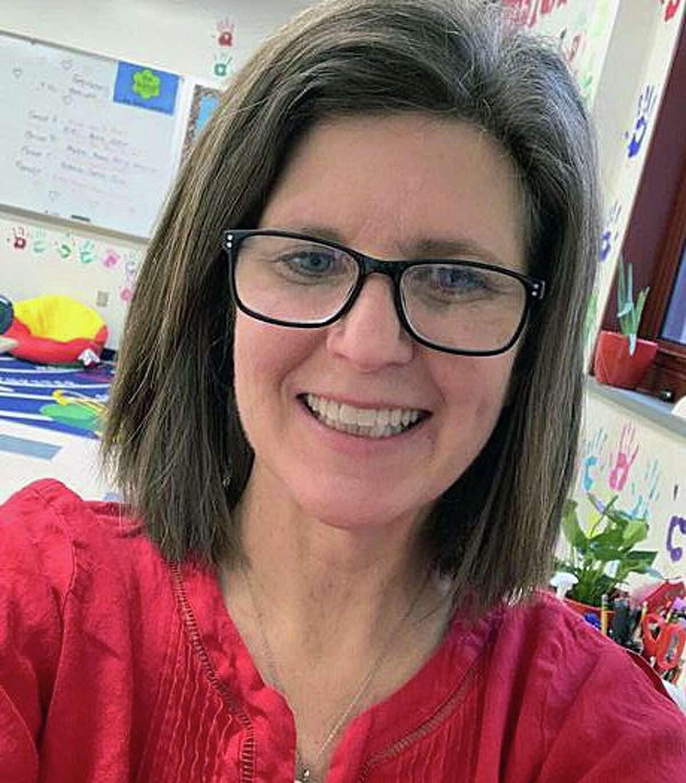 Jill Gonski, Newtown's Teacher of the Year, 2020-2021.