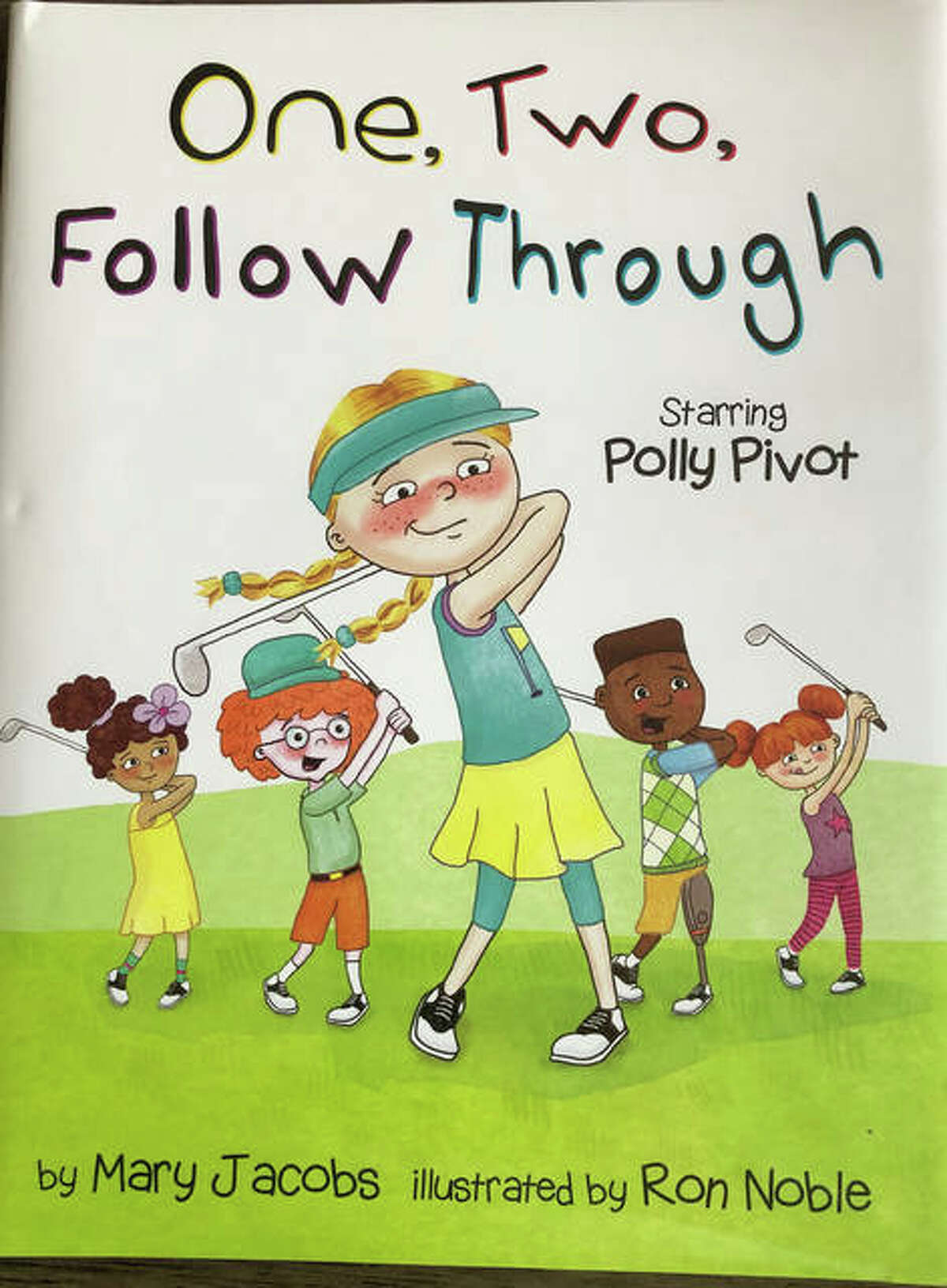 Mary Jacobs' new children's golf book 'One, Two, Follow Through' was released on June 8.