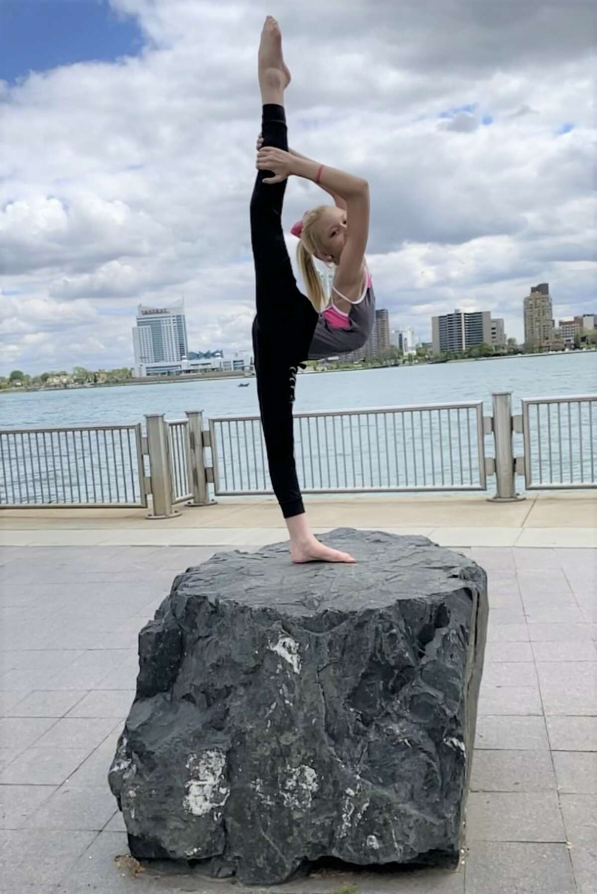 Daniella Lampen, of Manistee, qualified to compete in the Dance Awards in Las Vegas at the end of the month. The national competition will feature dancers from all over the world. (Courtesy photo)