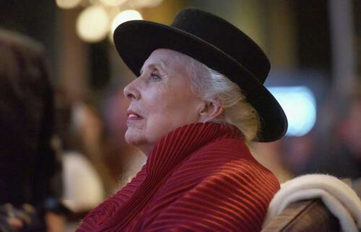 Joni Mitchell at her 75th birthday tribute concert