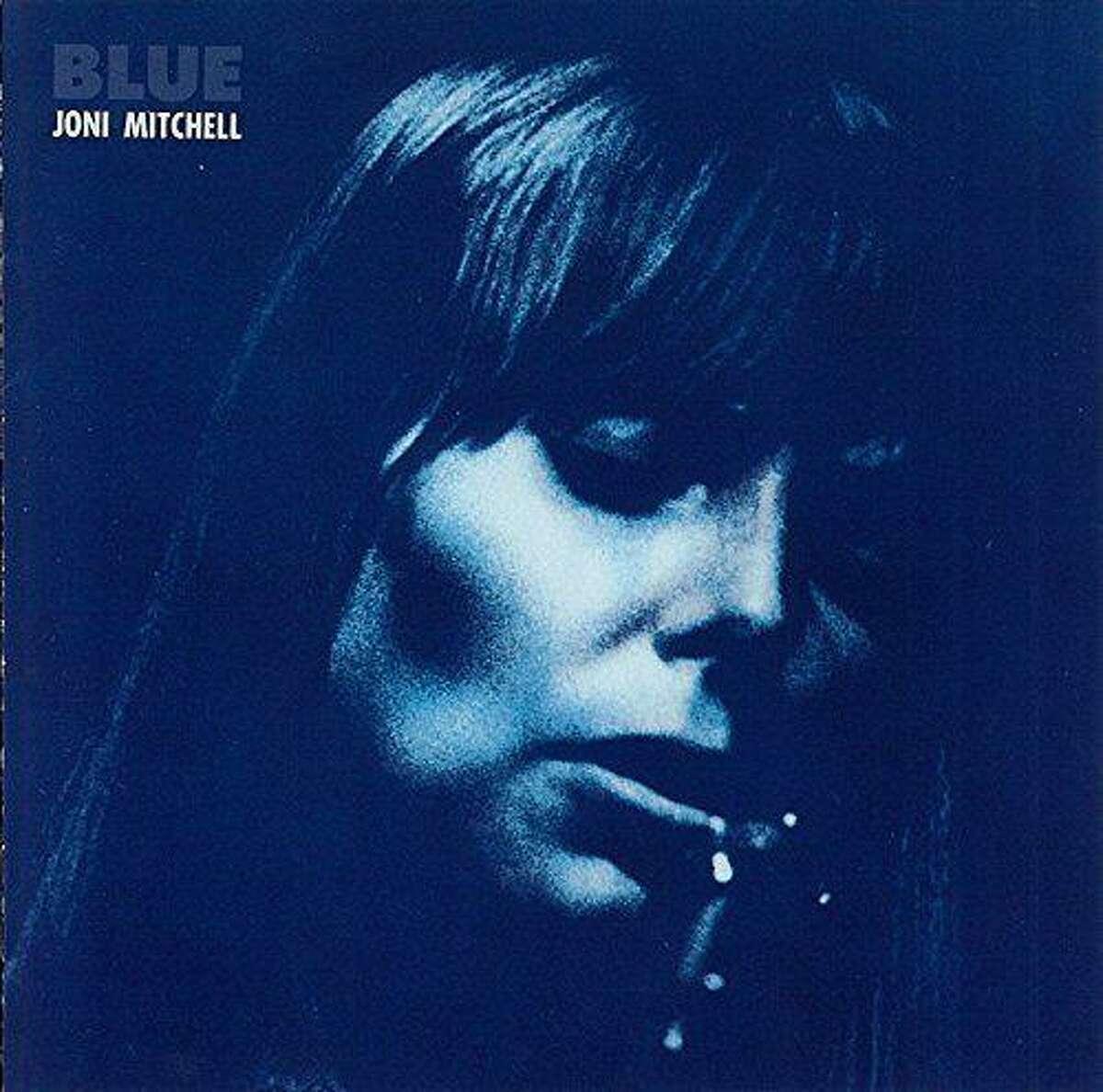 """Blue"" is the landmark 1971 album from Joni Mitchell"