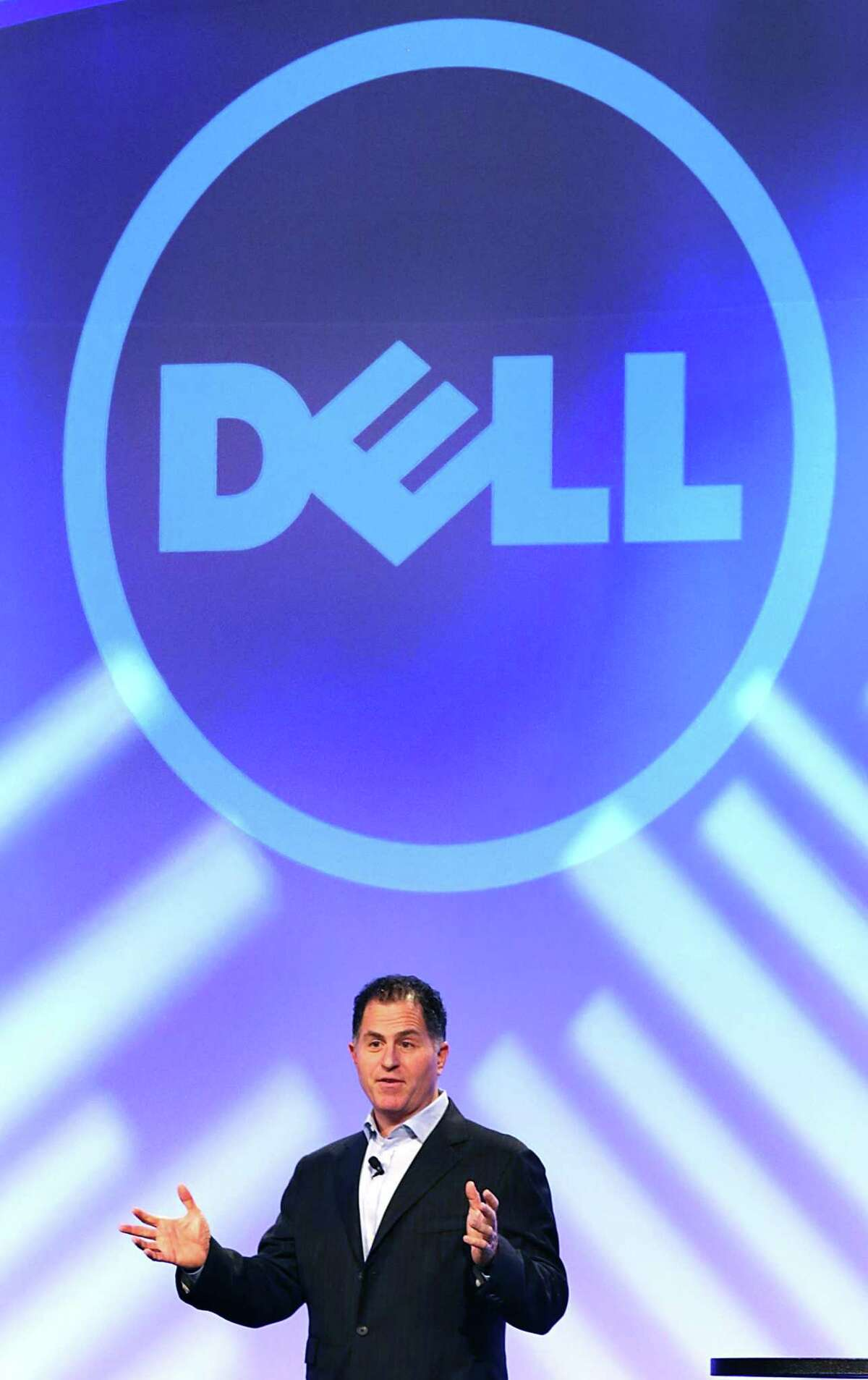 Michael Dell, founder and CEO of Dell Technologies, shown in 2013, is one of two high-powered players recently added to the Spurs ownership. The other is global investment firm Sixth Street.