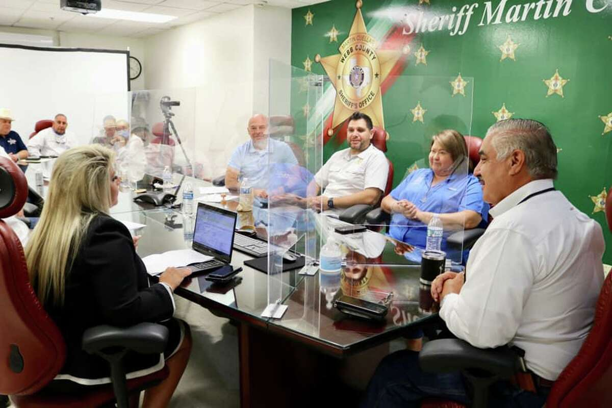 The Webb County Jail passed its Texas Commission on Jail Standards inspection for 13th consecutive year, according to Sheriff Martin Cuellar. Authorities are seen here talking about the jail inspection.