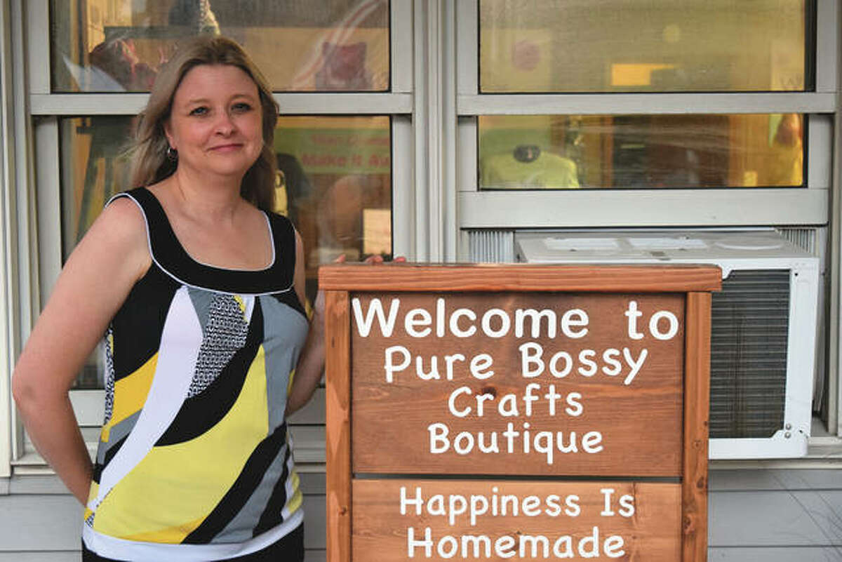 Tonya Hunn has opened a new business that will create personalized items such as T-shirts, mugs and photo puzzles.
