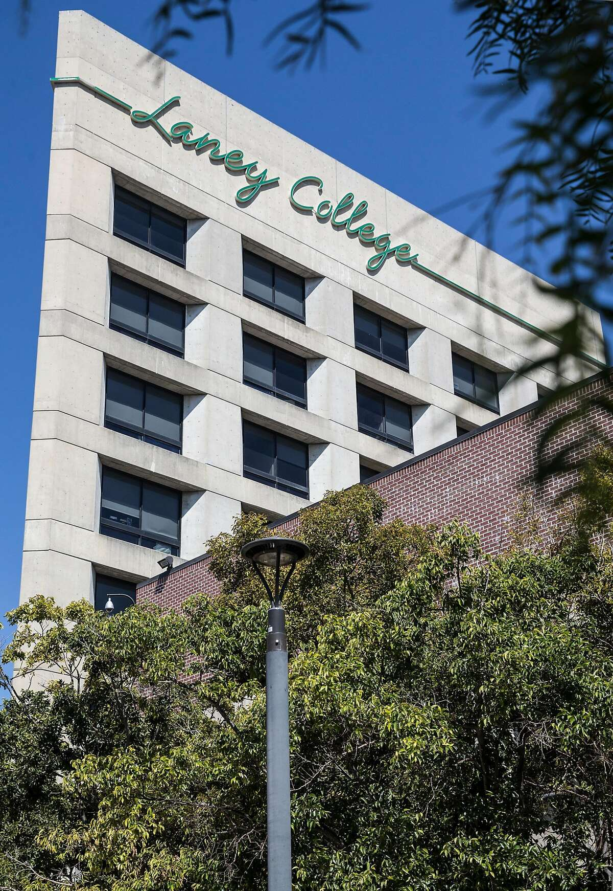 The Laney College administration building in Oakland. A new grand jury report found that the elected trustees running the East Bay's Peralta Community College District, including Laney College, have experienced great dysfunction.