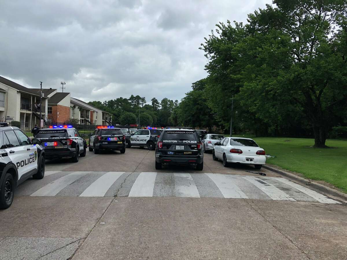 Police investigating a fatal shooting Monday afternoon in northeast Houston.