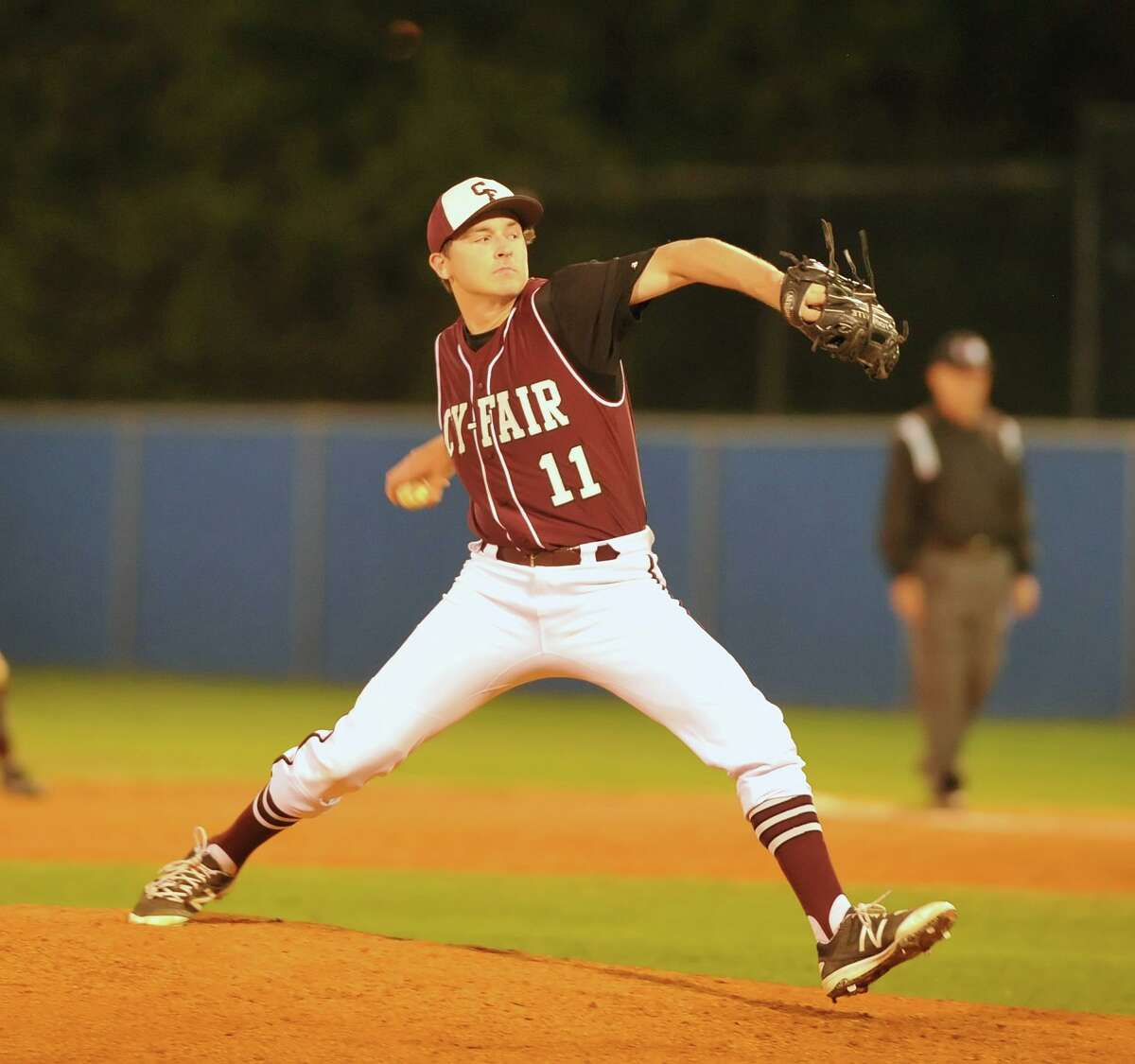Former Cy-Fair High baseball player Hayden Wesneski was promoted to Double-A Somerset in the New York Yankees farm system Tuesday, June 15.