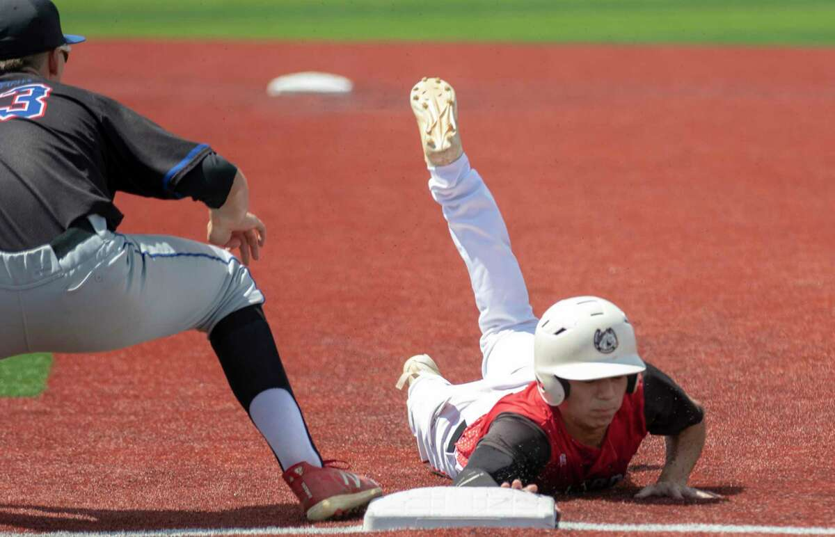 Westfield senior shortstop Joshua Flores (4) was the only shortstop named to the 2021 All-District 14-6A first team.