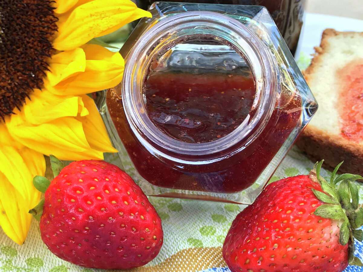 Strawberries are great for chutney and jam.