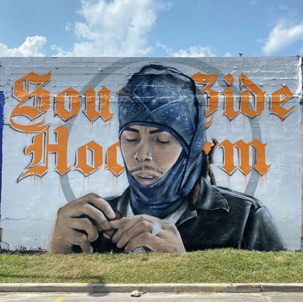 Mural of Southside Hoodlum unveiled this weekend at 802 San Pedro Ave. The local rapper will be there on Thursday for a meet and greet.