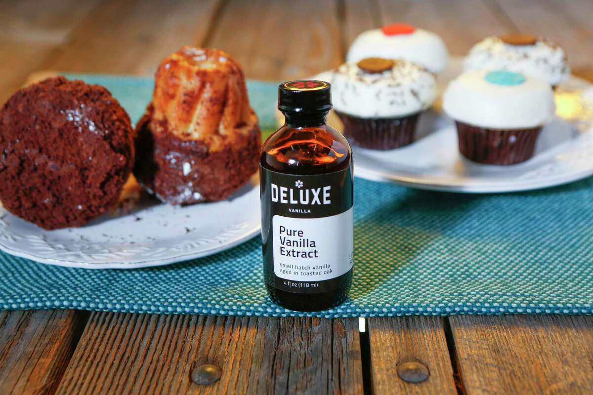 Deluxe Vanilla extract is in many Houston baked goods, such as Crave Cupcakes and the Boston cream kugelhopf at Common Bond.