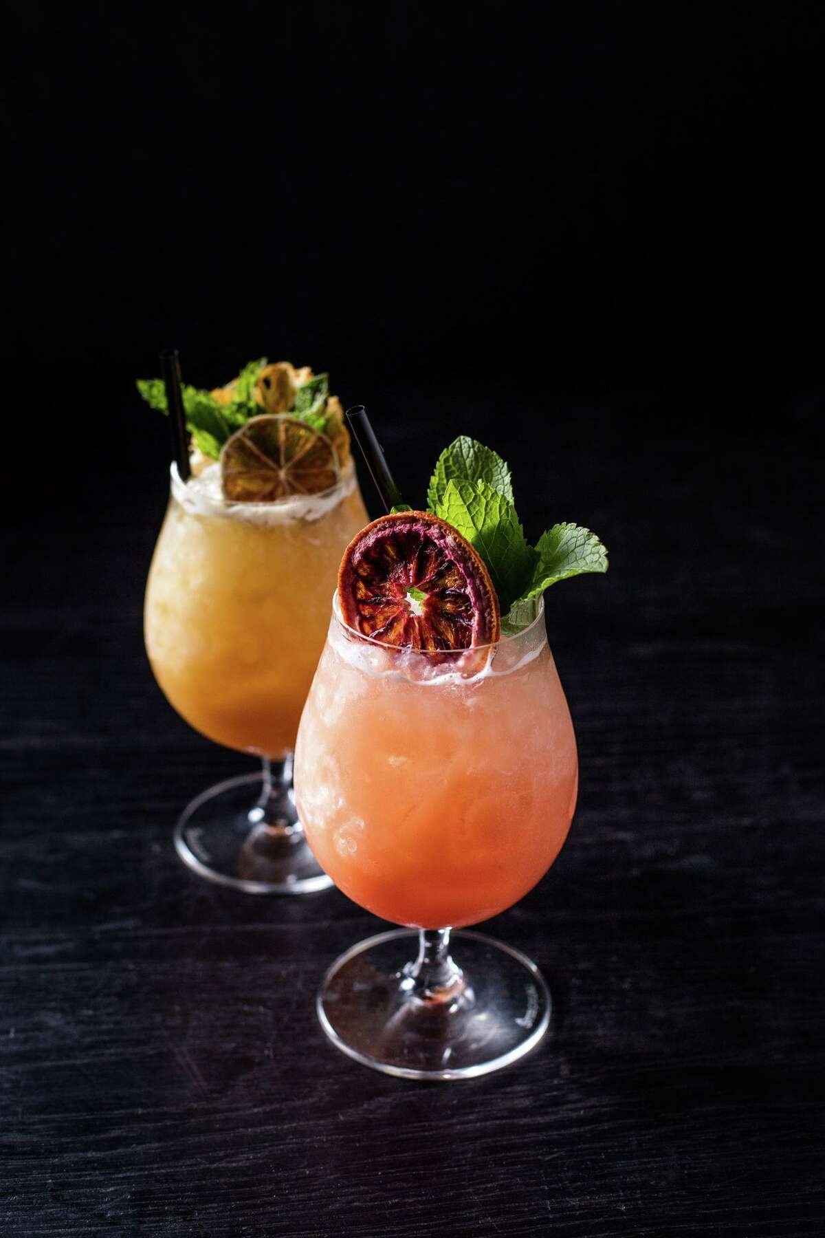 The Wheel's beverage director Kyle Tran has designed a cocktail menu with both classics and signature libations.