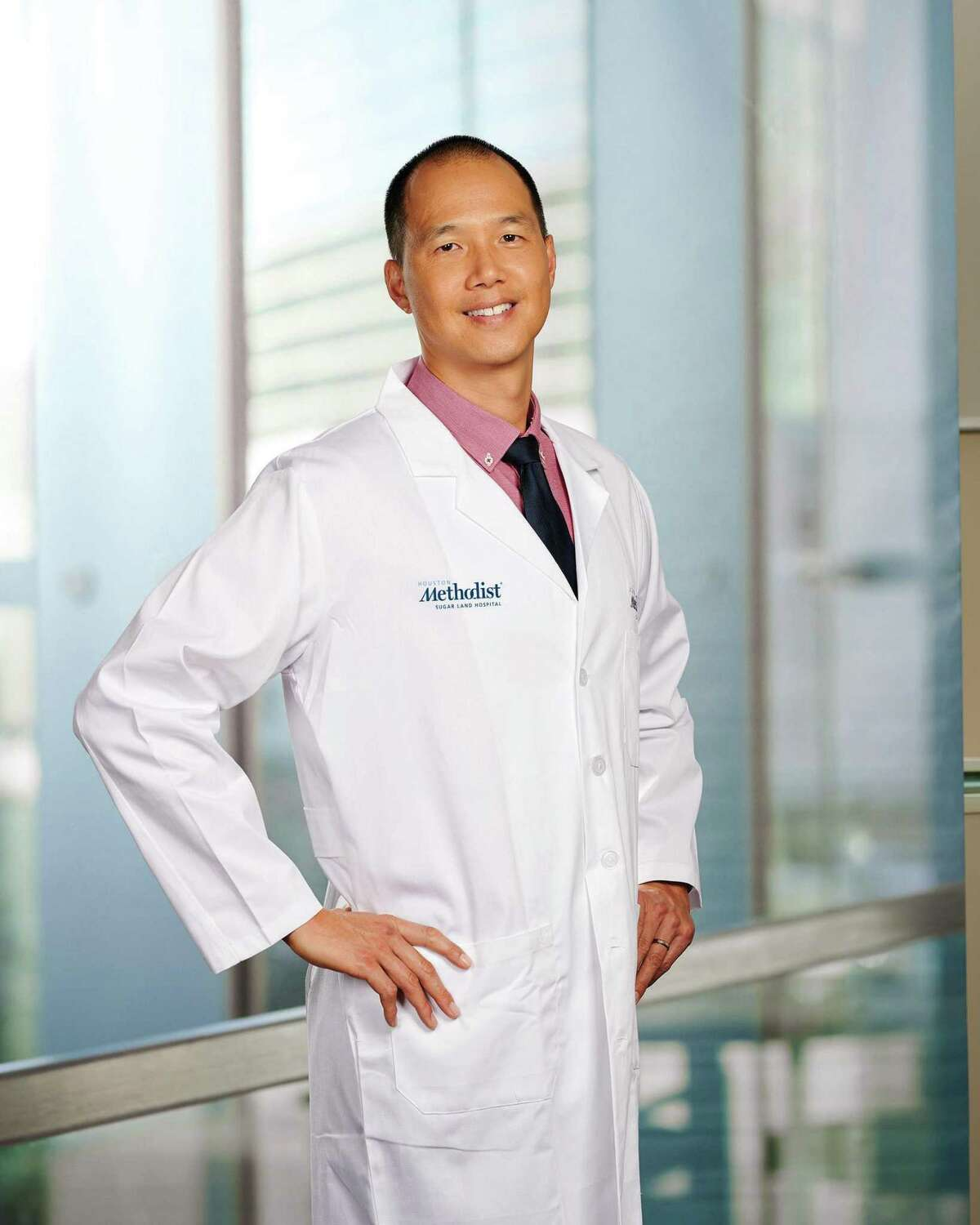 Brian Wang, M.D., of Houston Methodist ENT Specialists at Sugar Land is the first in the Houston Methodist system to use an innovative technology to assist in the treatment of a septal deviation.