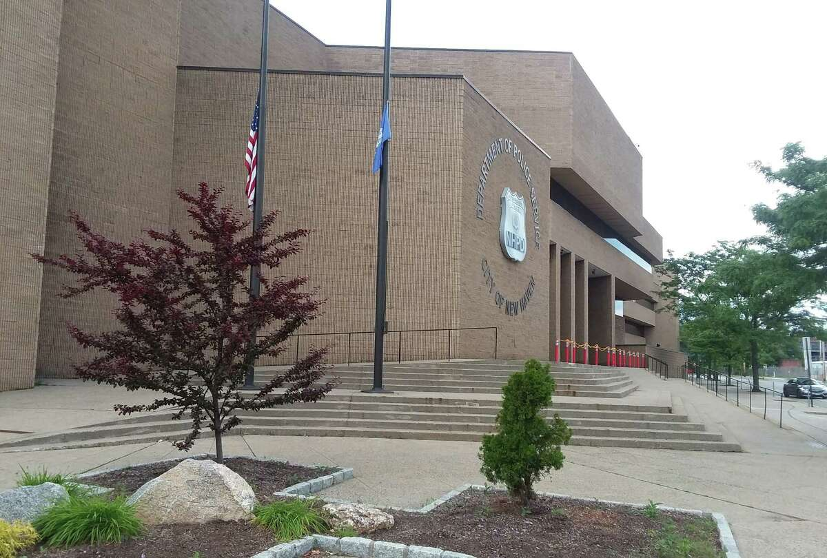 The New Haven Police Department. Union Avenue.