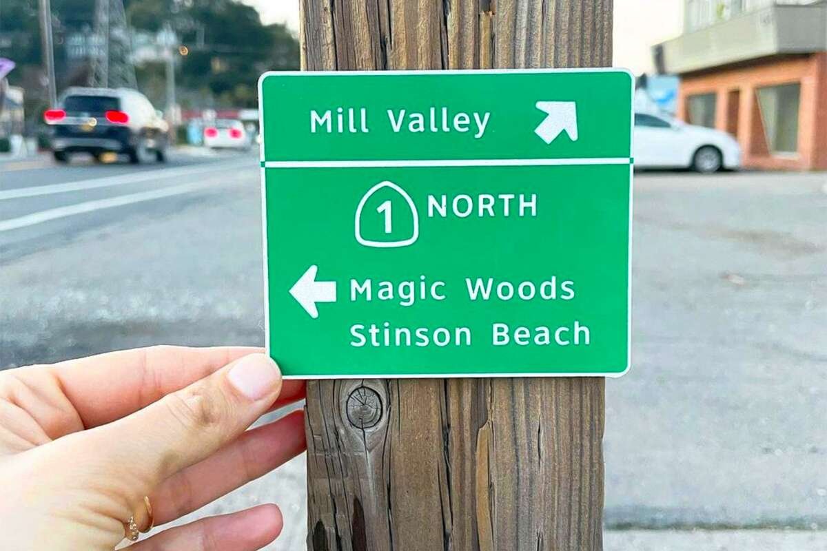 Miniaturist and prop designer Chelsea Andersson re-creates California highway signs ... only teenier.