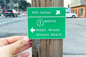 Miniaturist and prop designer, Chelsea Andersson, re-creates California Hwy signs... only teenier.