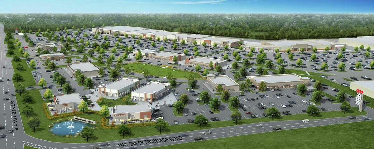 H-E-B broke ground today on a new store that will anchor Manvel Town Center, a large open-air retail district underway in the growing Houston suburb.