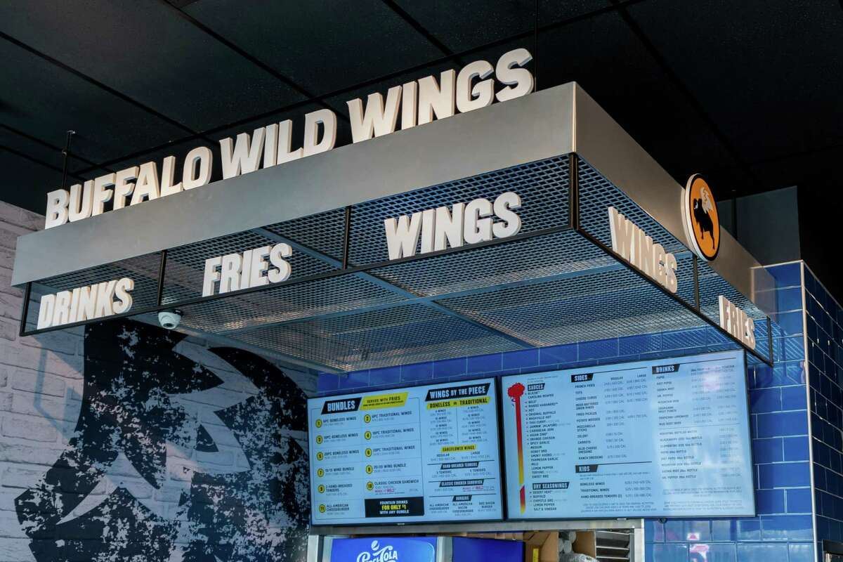 """Buffalo Wild Wings' first ever Houston area """"GO"""" location will open June 23, 2021 in Spring."""