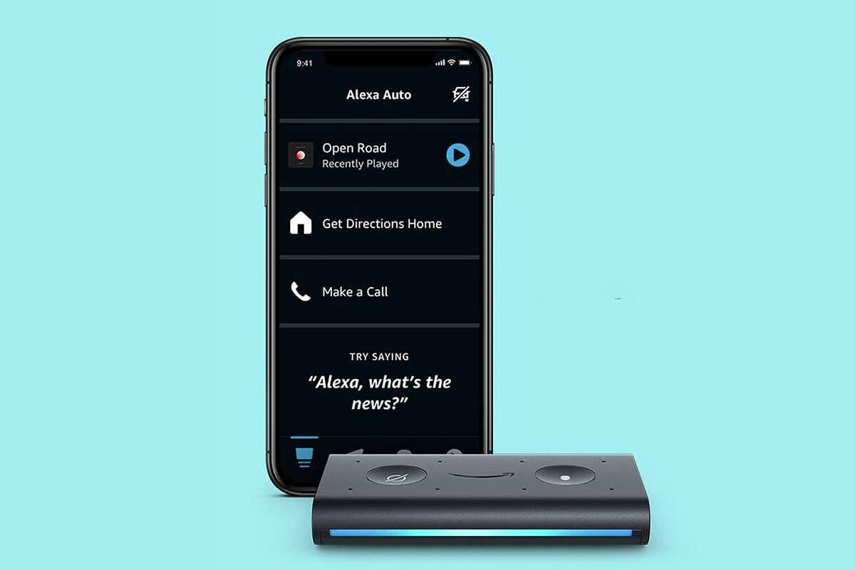 Echo Auto hand-free Alexa