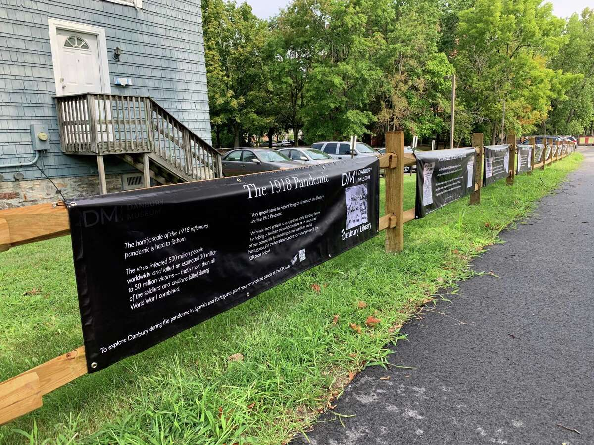 The Danbury Museum and Historical Society will reopen June 30, 2021 after being closed for most of the coronavirus pandemic. During the closure, the museum offered outdoor exhibits, including one on the 1918 flu pandemic.