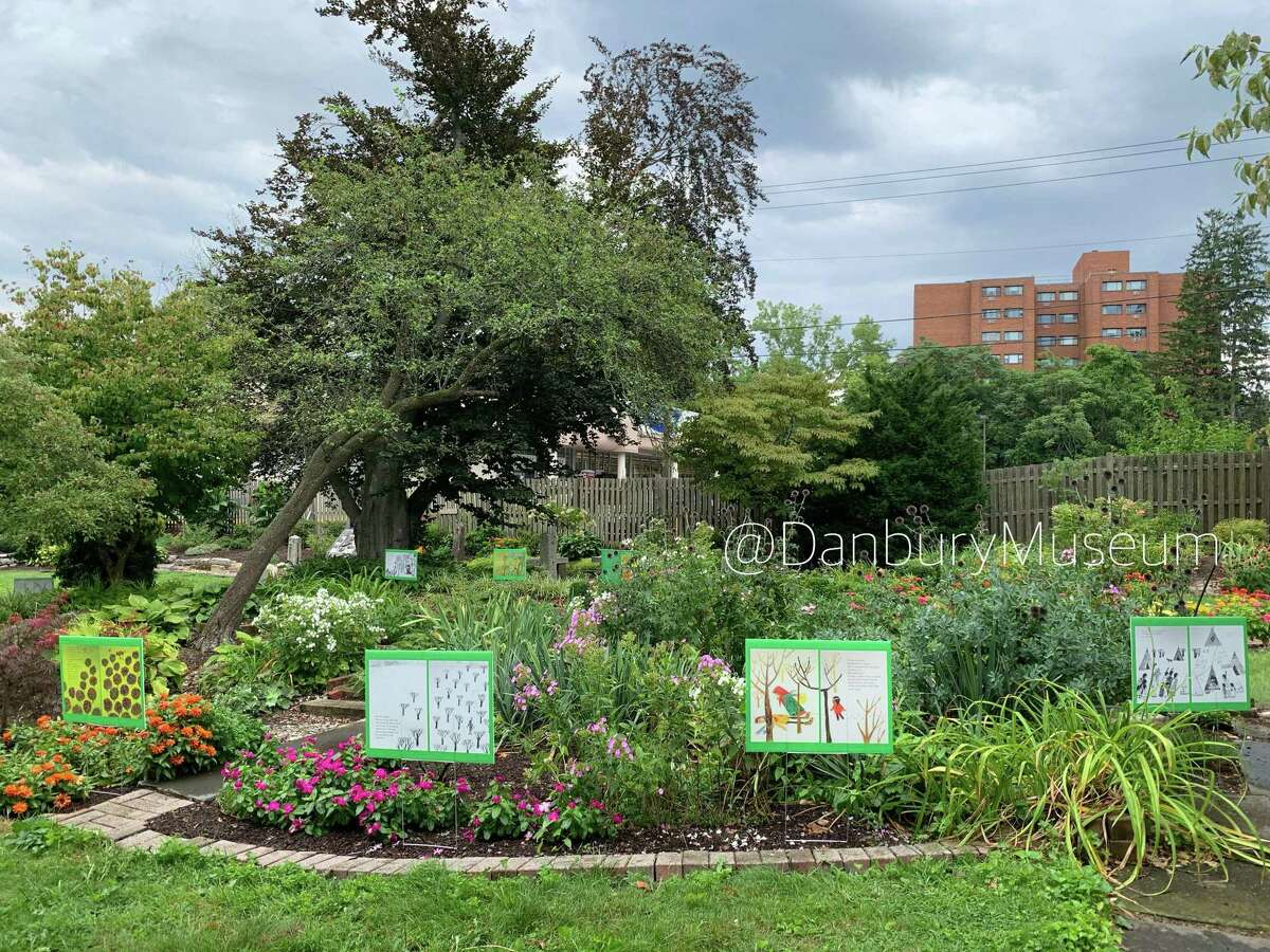 The Danbury Museum and Historical Society will reopen June 30, 2021 after being closed for most of the coronavirus pandemic. During the closure, the museum offered outdoor exhibits, including a read-a-long in its garden.