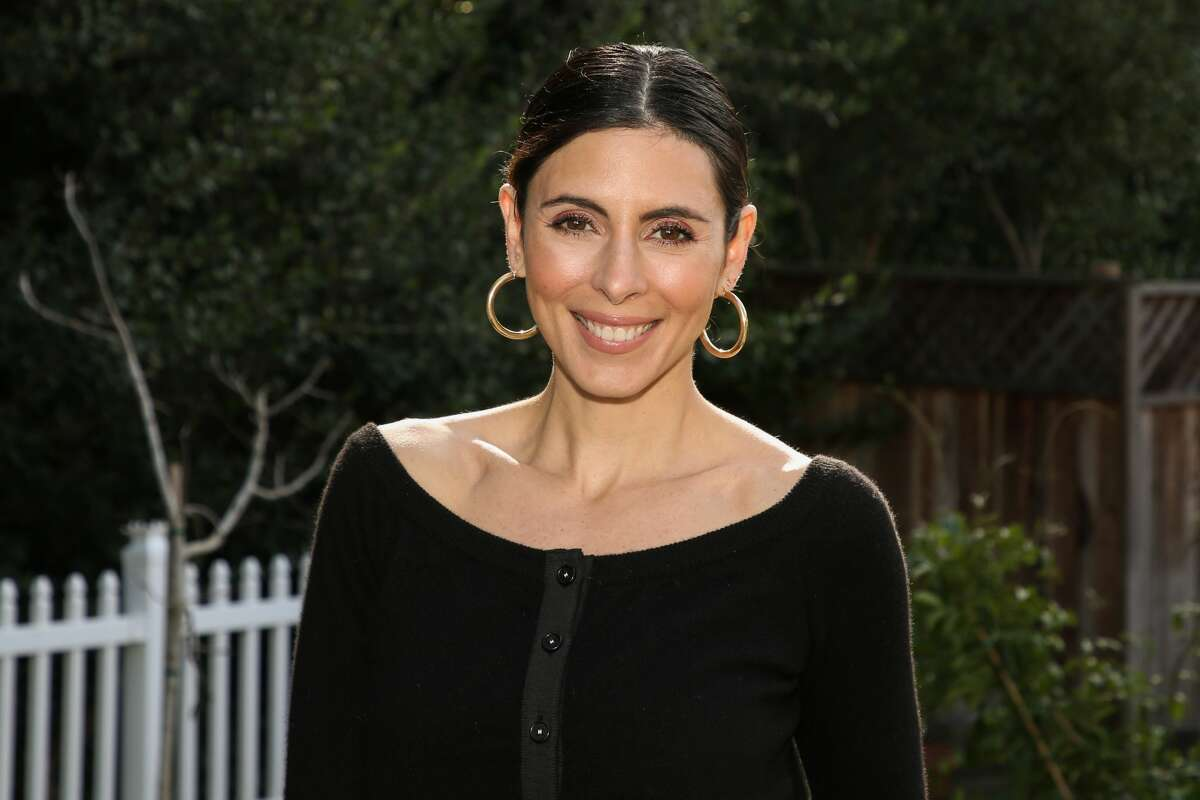 """UNIVERSAL CITY, CALIFORNIA - JANUARY 29: Actress Jamie Lynn Sigler visits Hallmark Channel's """"Home & Family"""" at Universal Studios Hollywood on January 29, 2020 in Universal City, California. (Photo by Paul Archuleta/Getty Images)"""