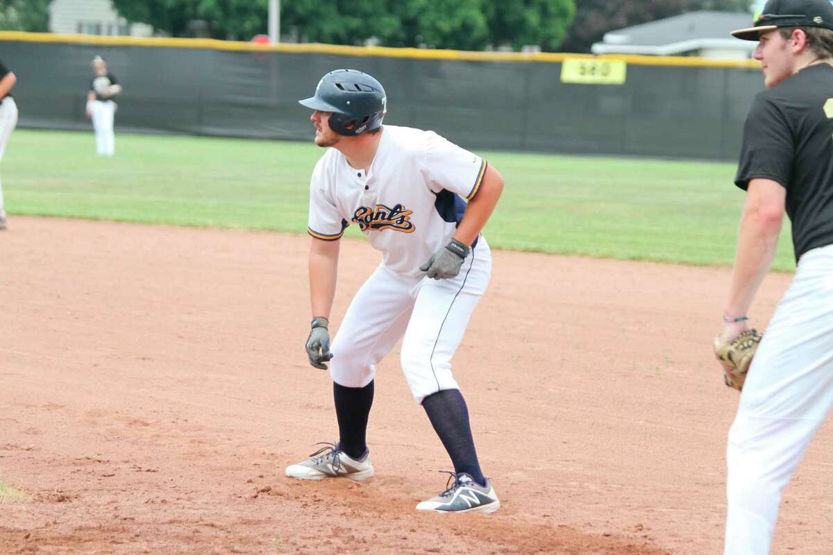 Lucas Richardson holds the Manistee Saints' Iron Man record with 209 consecutive games played. (News Advocate file photo)