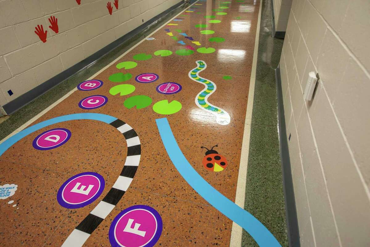 Sensory paths, like the one at the Pediatric Center for Rehabilitation and Health, offer colorful and creative activities for children to interact like. (Photo provided)