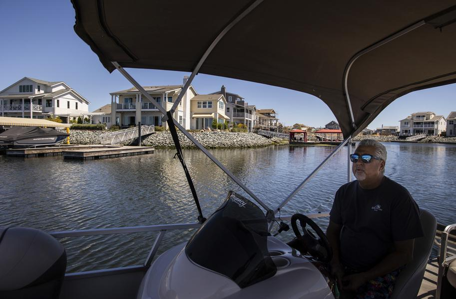 A new Bay Area housing development is 48 years in the making - and with a dock in every backyard