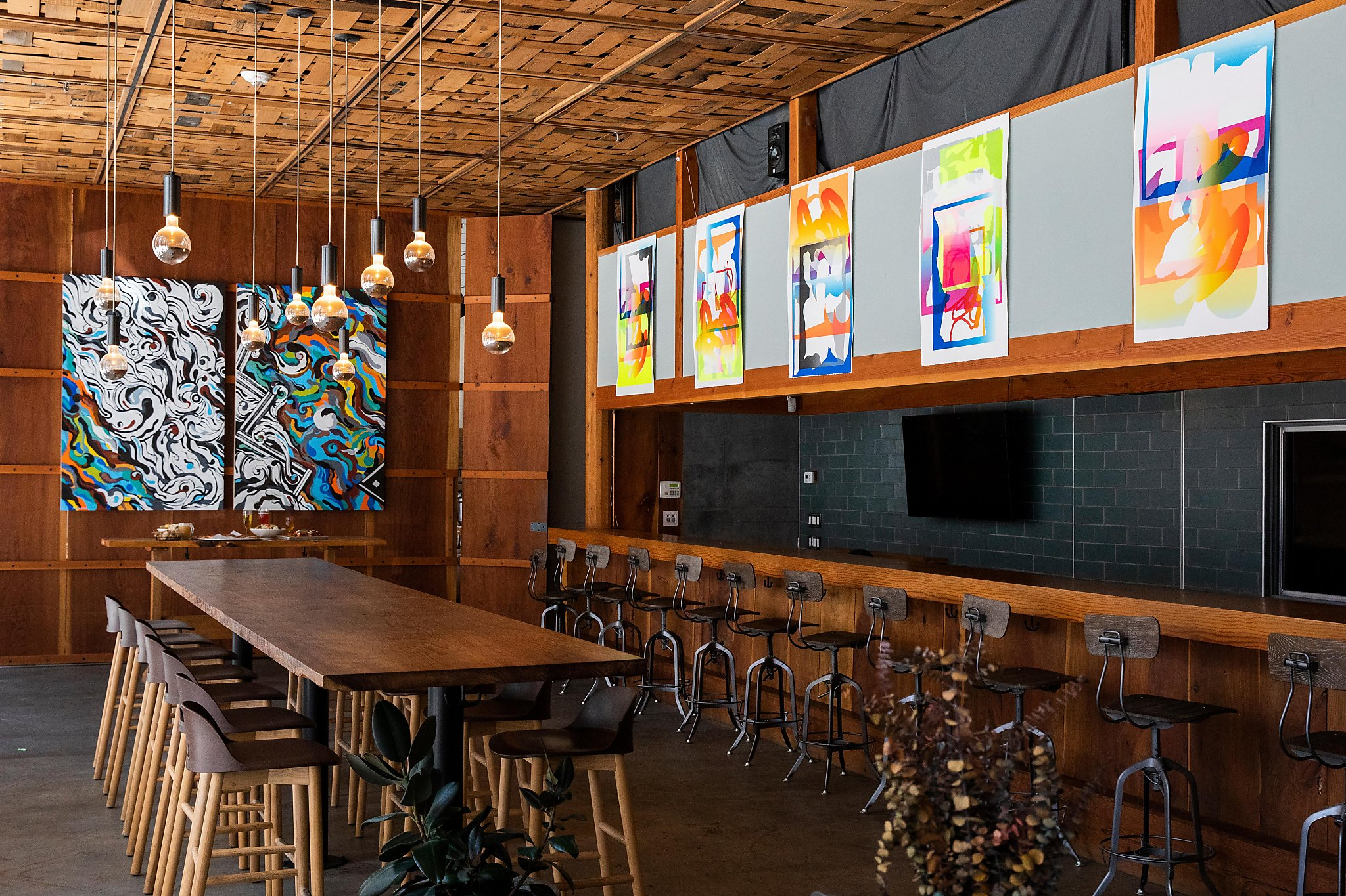 Inside Namu Stonepot's new SoMa beer hall serving bibimbap and sourdough pizza