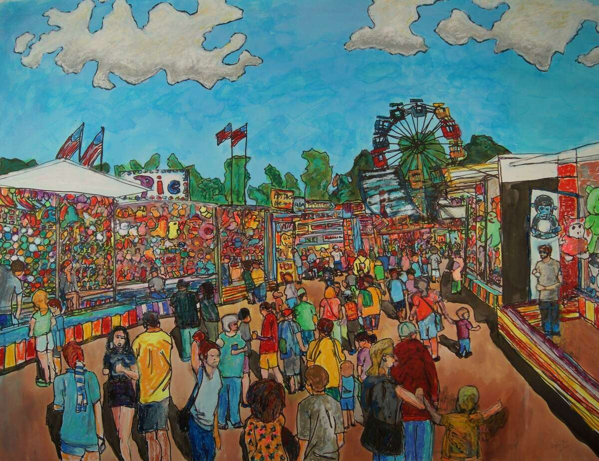 Goshen artist Don Sexton has a show of paintings at Five Points Gallery, Torrington, opening July 8 with a reception July 10.