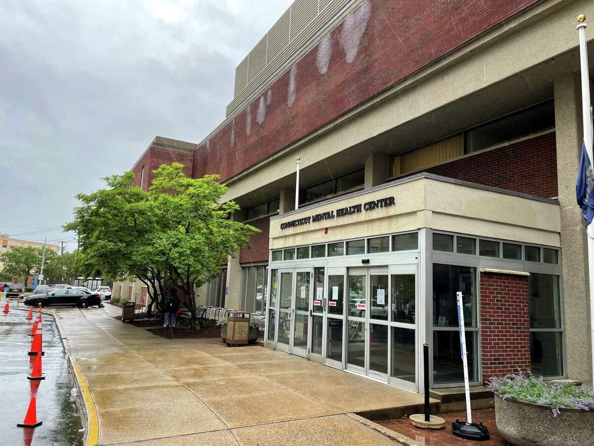 The Connecticut Mental Health Center on Park Street in New Haven., Conn. June 22, 2021.
