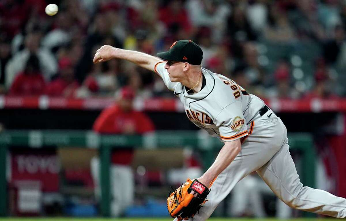 Giants starter Anthony DeSclafani improved to 8-2, and lowered his ERA to 2.77 in win over the Angels.