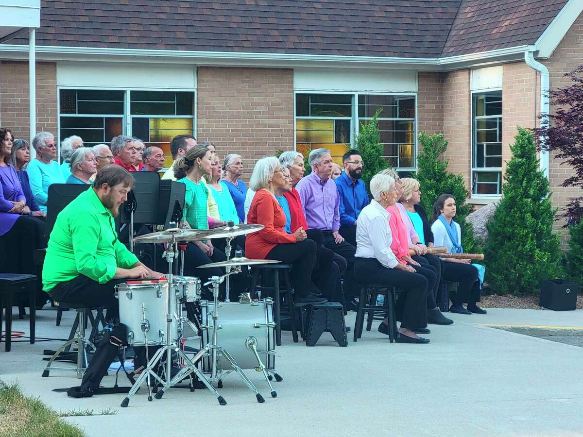 The Benzie County Community Chorus held its Sounds of Summer concert over the weekend, its first performance since 2019. (Colin Merry/Record Patriot)