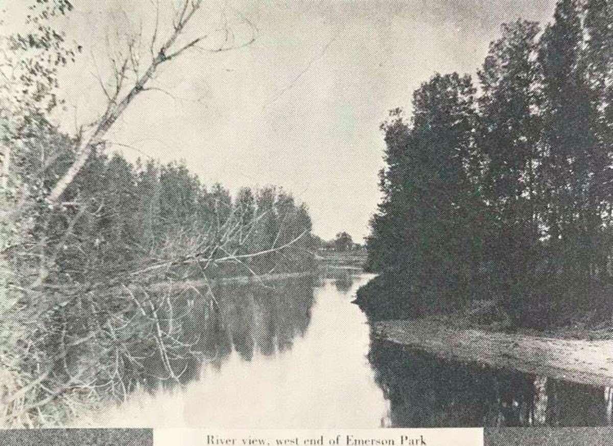 River view, west end of Emerson Park