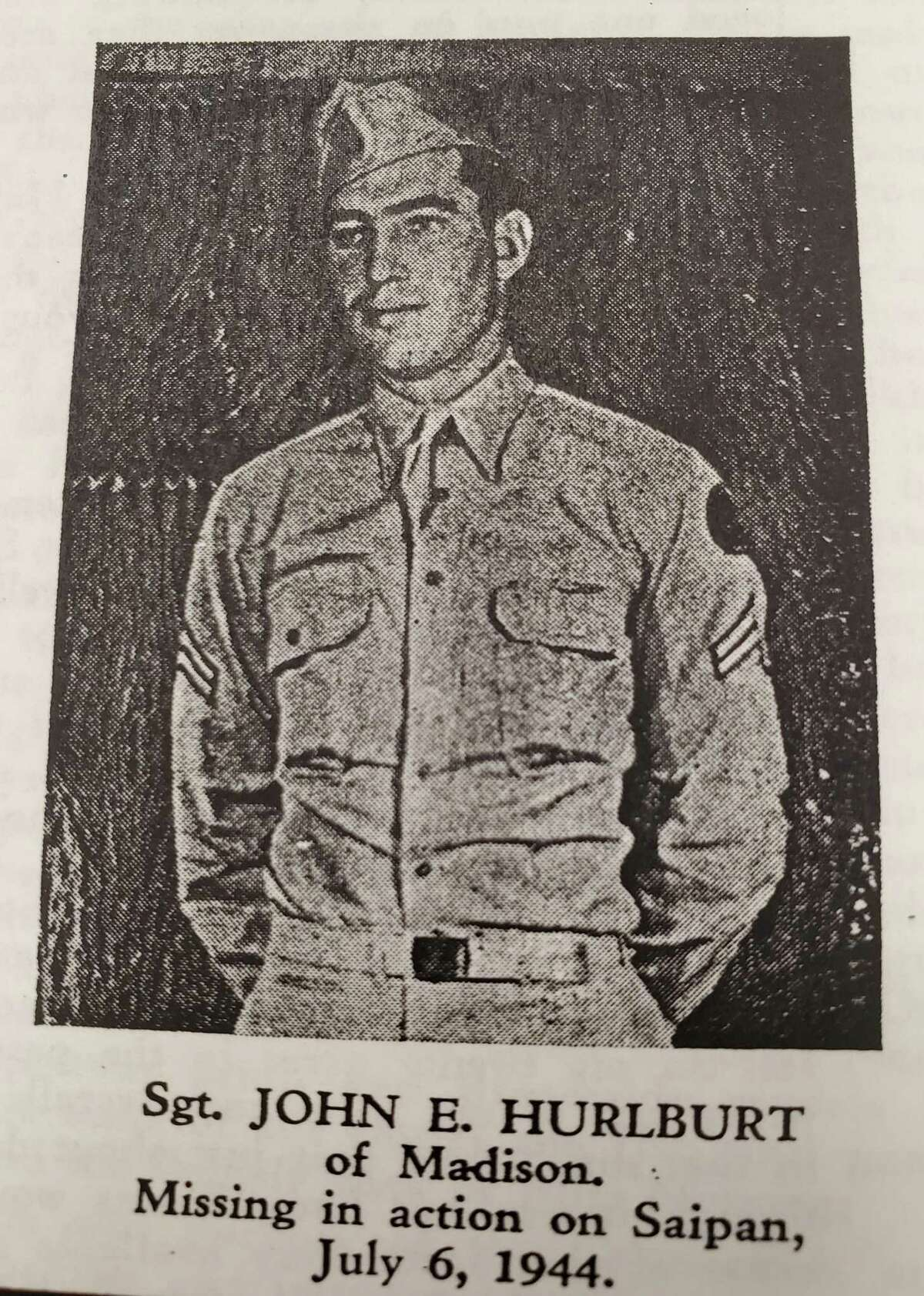 The remains of Army Sgt. John E. Hurlburt, killed fighting in World War II in 1944, were recently identified.